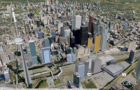 Toronto in 3D