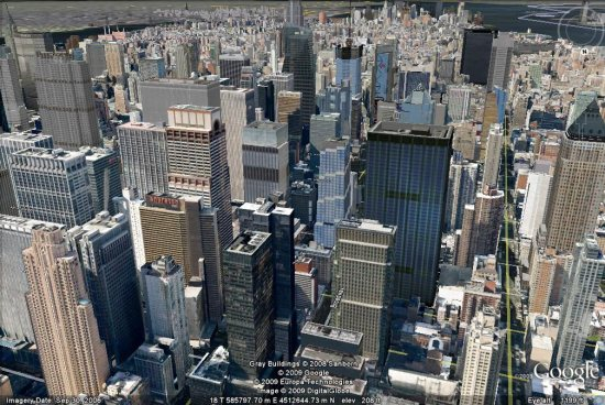 New York City in 3D