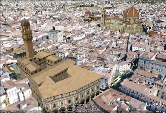 New 3D cities: Tucson, AZ, Cleveland, OH and Florence, Italy ...
