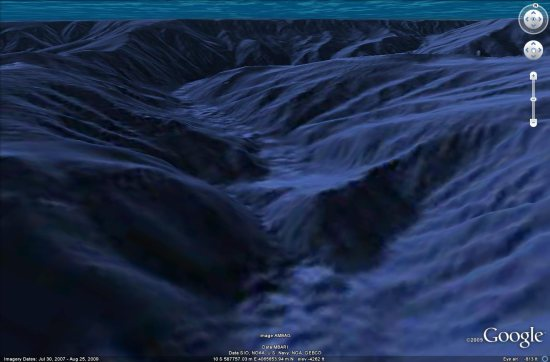 Some Parts Of The Ocean Are Now Highresolution Google Earth Blog - Google ocean