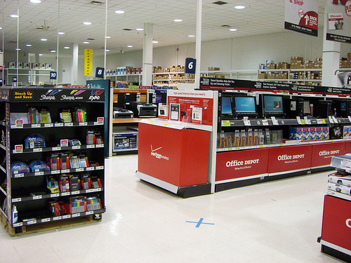 Seals Stadium in Office Depot