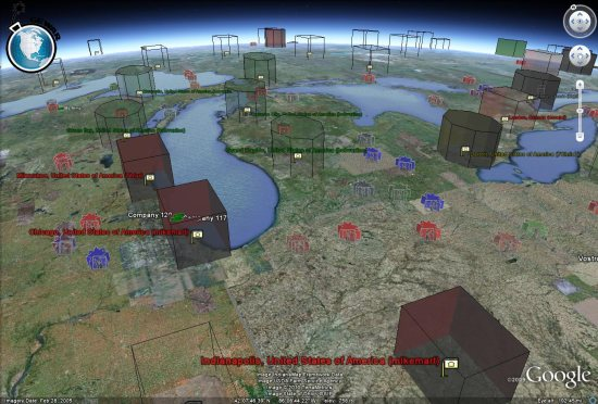 Playing games in google earth google earth blog ships last year planetinaction released a neat game simply titled ships it gave you the ability to take the helm on 3d ships and was very well gumiabroncs Choice Image