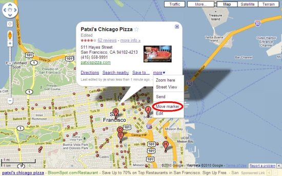 Use StreetView To Make Points Of Interest More Precise Google - Make points on a map