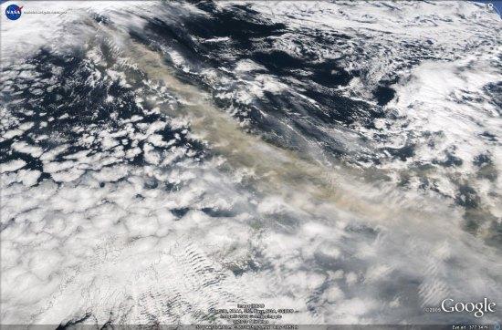 Iceland ash cloud