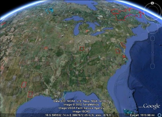 How often does Google update the imagery in Google Earth Google – View Street Map Google Earth