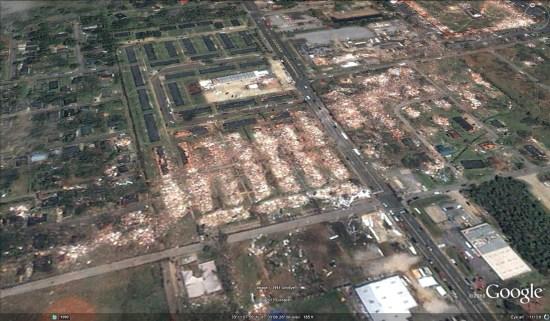 Алабама торнадо