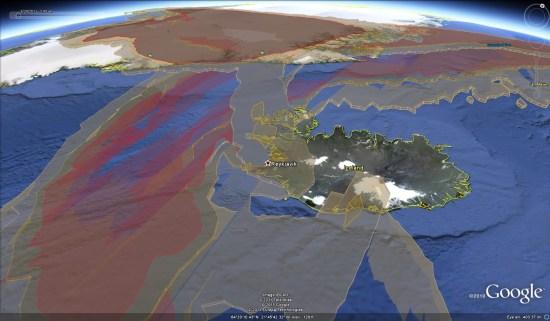 Eruption du Grímsvötn le 21/05/2011, Islande. Grimsvotn