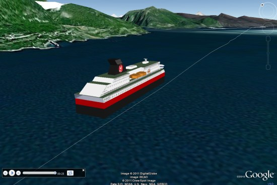 Tracking The Hurtigruten Along The Coast Of Norway