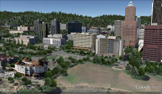 New 3D trees in Portland, Oregon | My Google Map Blog