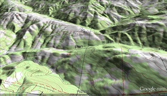 Seamless Topographic USGS Maps Google Earth Blog - Us topo maps google earth