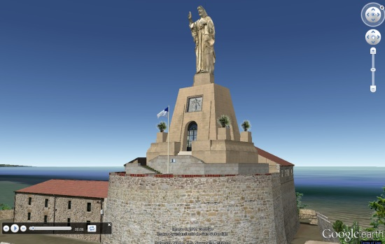 Awesome 3d Tours Of Mount Urgull In San Sebastian Google