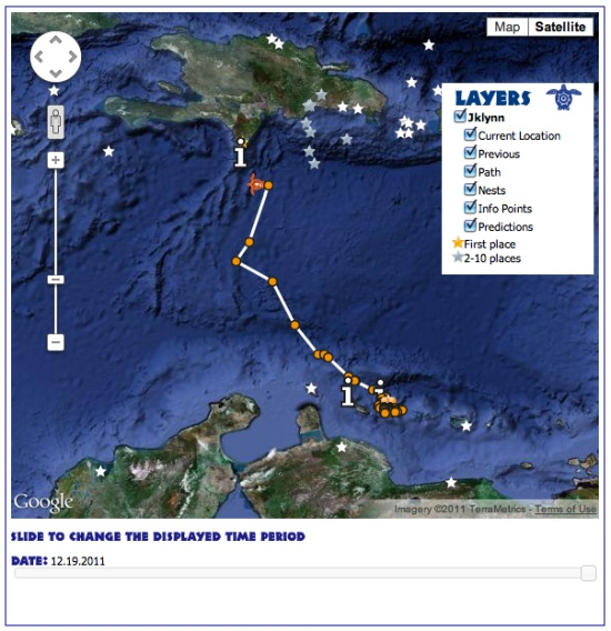 Track Sea Turtle Migrations In Google Earth Google Earth Blog - Current google maps satellite