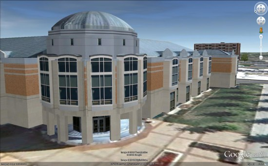 Awesome 3D Building: The Evansville Central Library ...