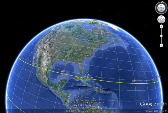 Google earth a to z latitudelongitude and layers google earth blog gridg gumiabroncs Image collections
