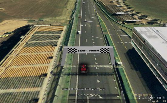 Google Earth Driving Simulator >> Race Formula One tracks with Google Earth - Google Earth Blog