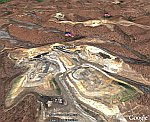 Coal Mining Mountain Top Removal in Google Earth