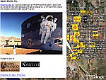 New Mexico Space Trails in Google Earth