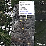 North Korea Nuclear Test  in Google Earth