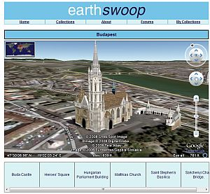 Budapest Tour in Google Earth plugin
