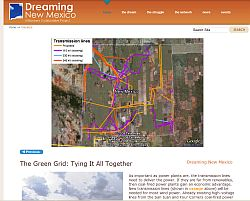 Dreaming New Mexico Presentation in Google Earth plugin