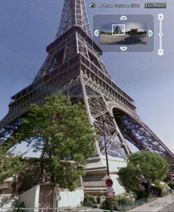 France Street View in Google Earth