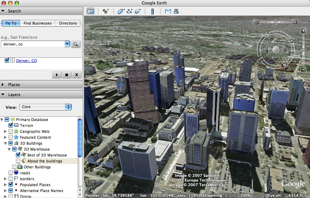 Download google earth 5. 1 with google ocean.