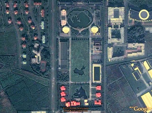 China Garden Maps in Google Earth