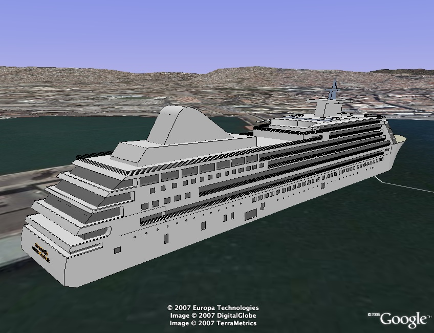 Cruise Ship Locations Google Earth Best Image Cruise Ship - Cruise ship locater