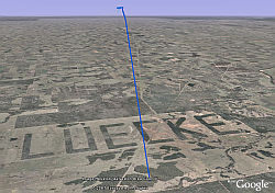 Luecke in Google Earth