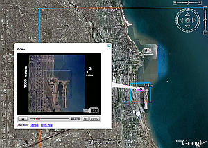 Powers of 10 in Google Earth