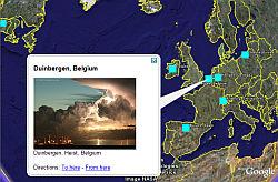 Ganadores del Calendario Fotográfico Accuweather en Google Earth