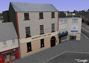 Westport, Ireland gets 3D in Google Earth