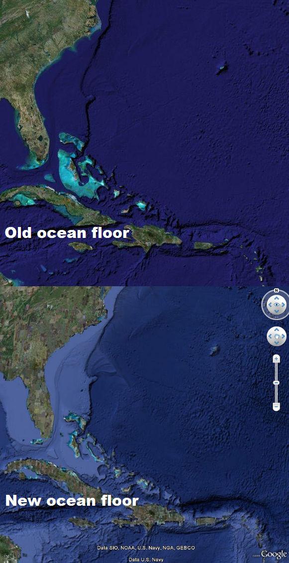Google Maps Earth. Floor in Google Earth