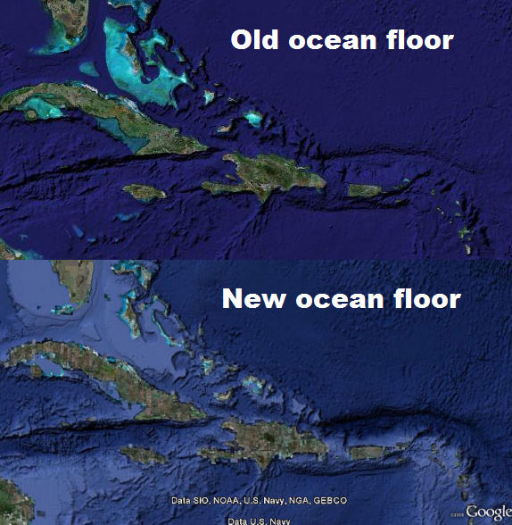 New View Of Ocean Floor In Google Earth Google Earth Blog - Google ocean