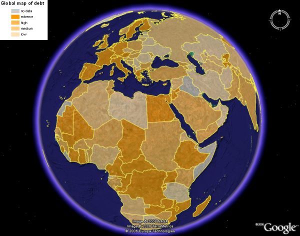 earth globe map. Risk Analsysis Global Maps