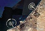 Dubai Offshore Real Estate in Google Earth