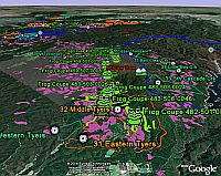Environment Victoria Rainforest  in Google Earth