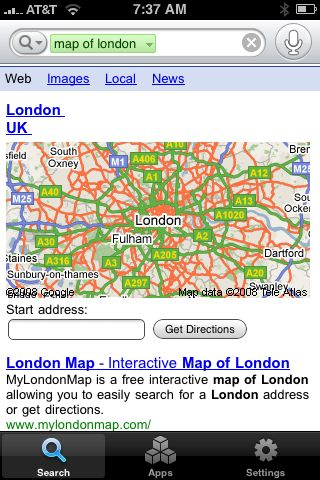 london map tourist. Map of London voice search on