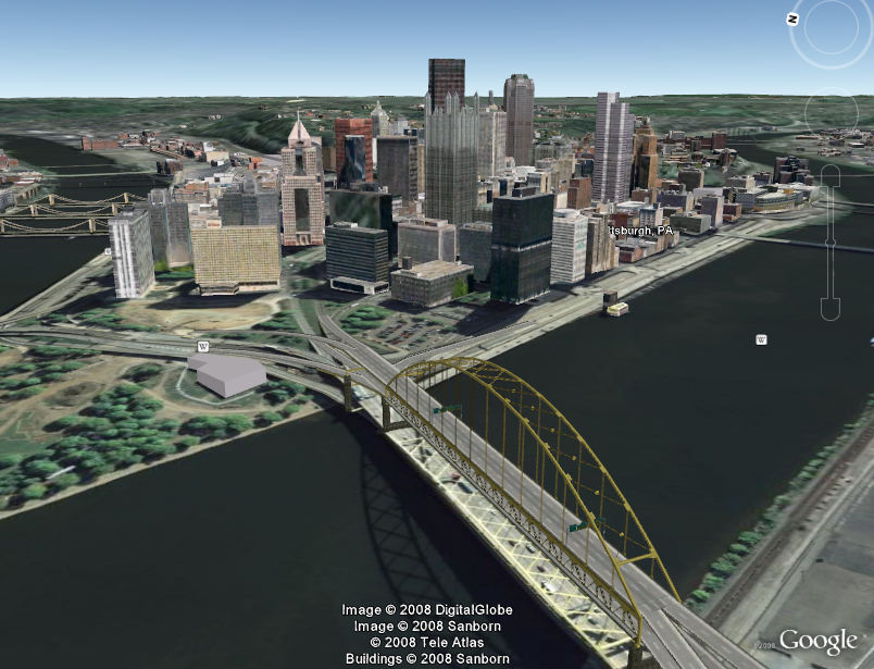 New 3D Cities in Google Earth Pittsburgh Seattle Google Earth Blog