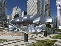Pabellón Pritzker 3D en Google Earth
