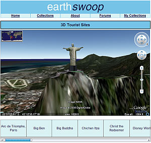 Cristo Redentor en 3D en Google Earth