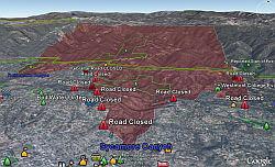 California Fires November 2008 Google Earth Blog