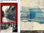 Flood of Florence in 1966 in Google Earth