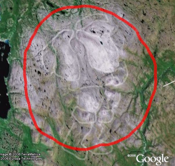 Amazing Picture Of Santa Found On Earth Google Earth Blog