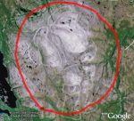 Santa Picture in Google Earth