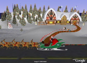 Santa Tracker for Christmas in 3D in Google Earth
