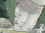 Giant face in Google Earth