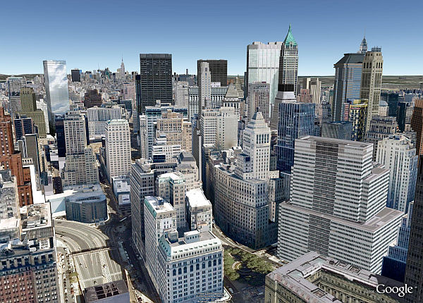 The Google Earth 3D Buildings Layer | Google Earth Blog