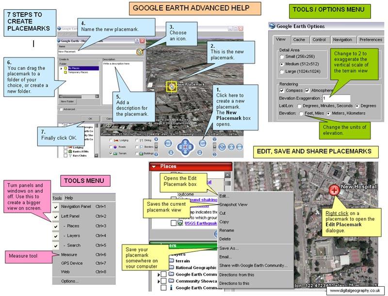 Google Earth Mouse Mat Advanced