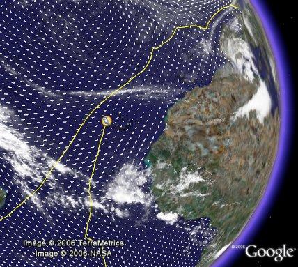 Aviva Challenge in Google Earth